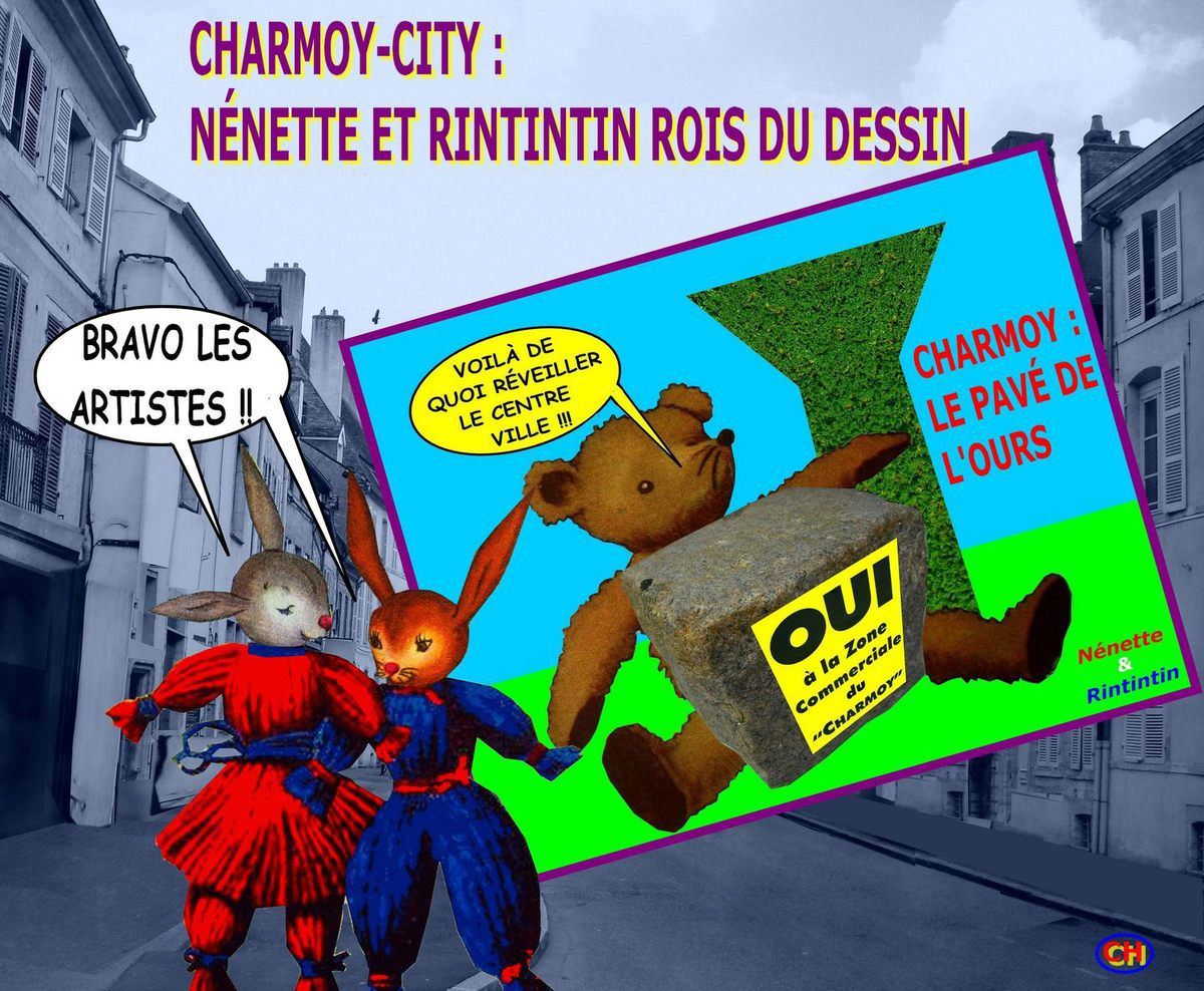 Le nouvellisme de Nénette et Rintintin au Charmoy