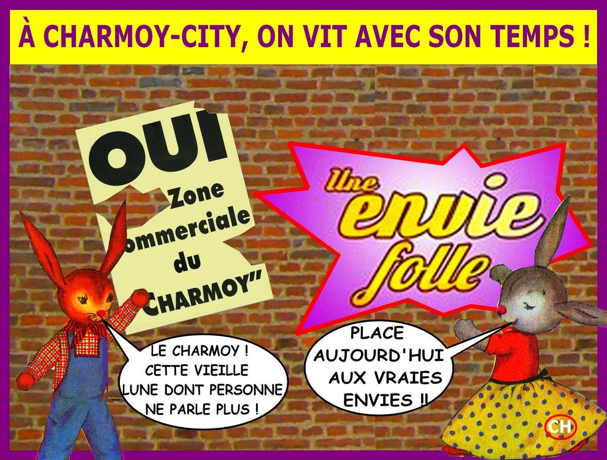 Envie folle à Charmoy-City