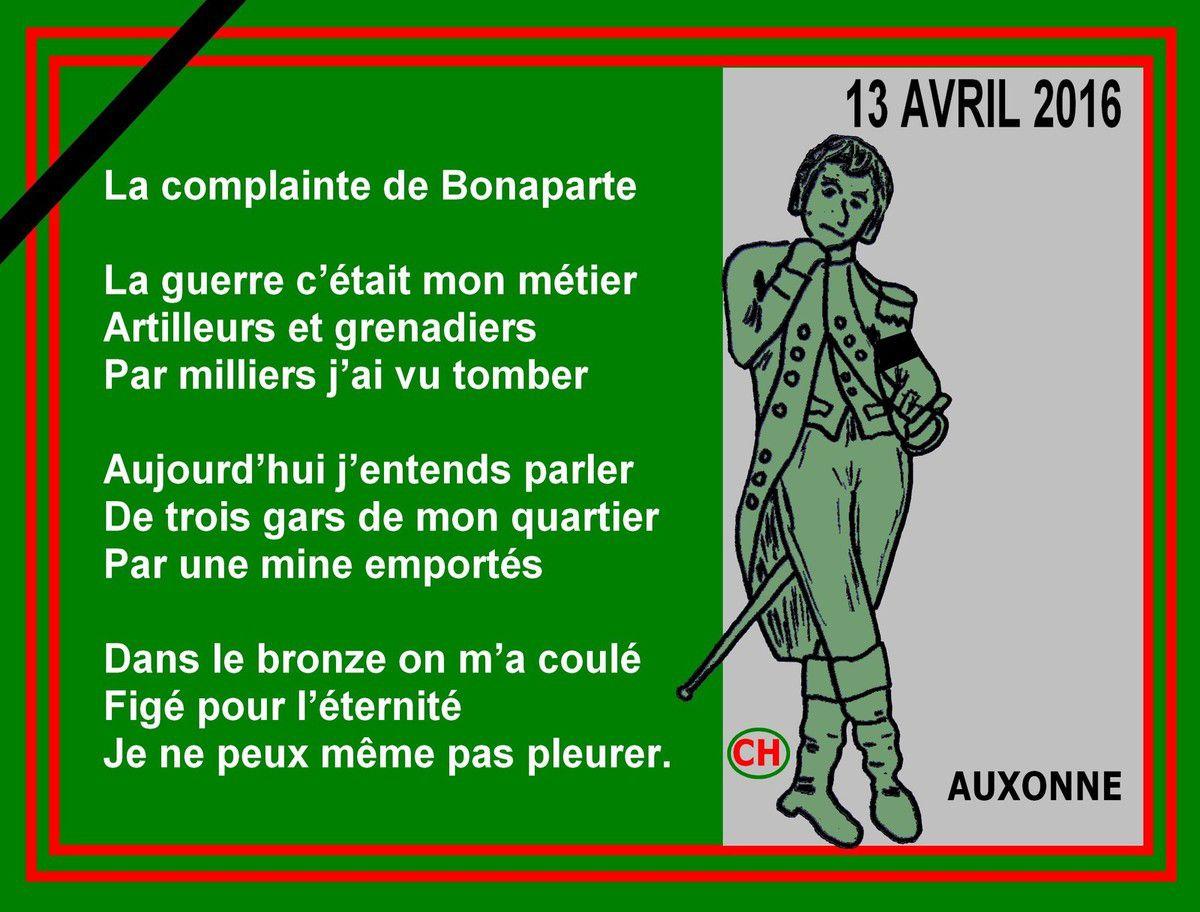 Complainte de Bonaparte pour trois gars de son quartier