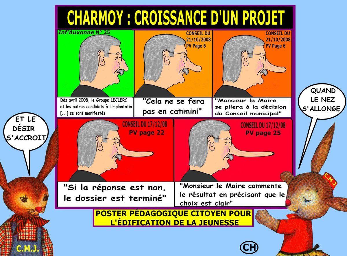 Poster pédagogique citoyen du Charmoy