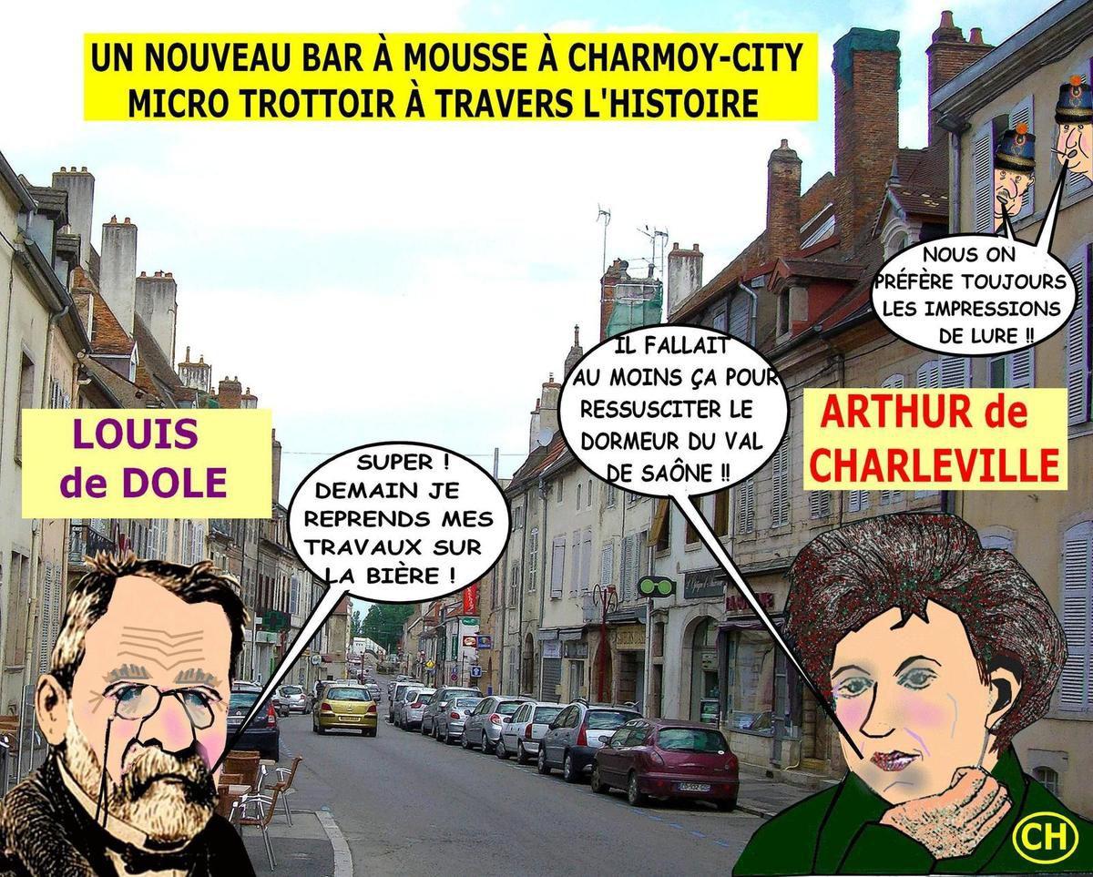 Un nouveau bar à mousse à Charmoy-city