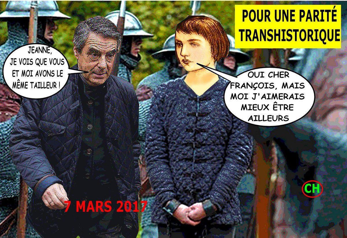 Jeanne et François, même tailleur