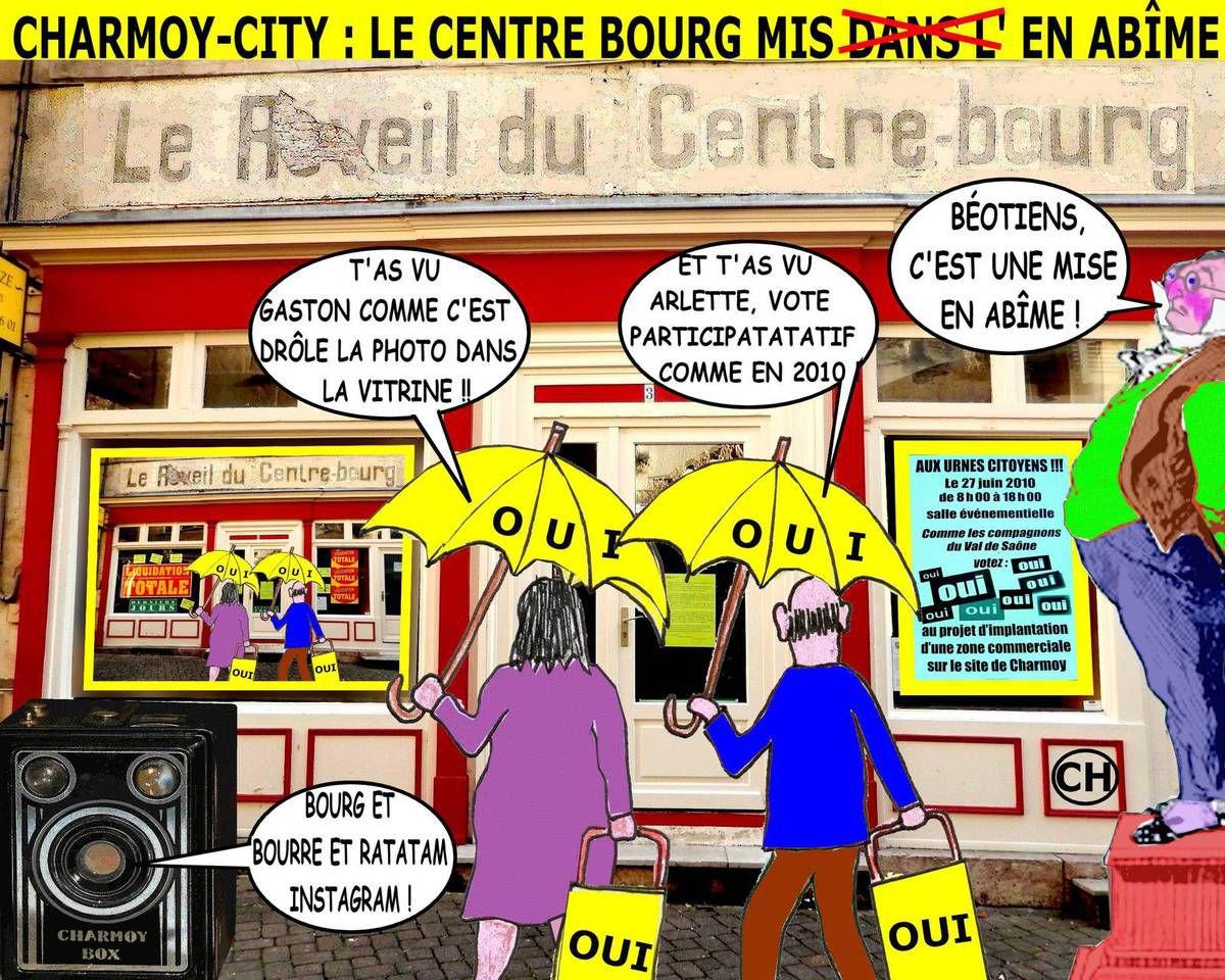 ALBUM LE RÉVEIL DU CENTRE-BOURG