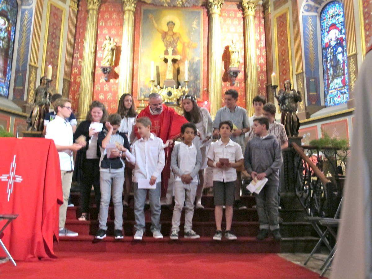 Confirmation et de première Communion juin 2016
