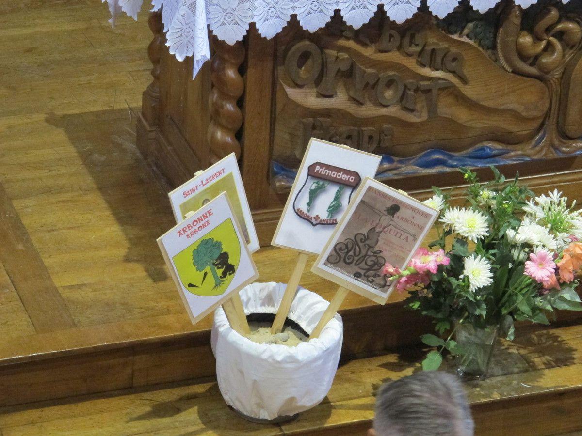 Messe des fêtes à ARBONNE 2016