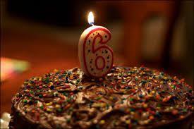 6ème anniversaire !