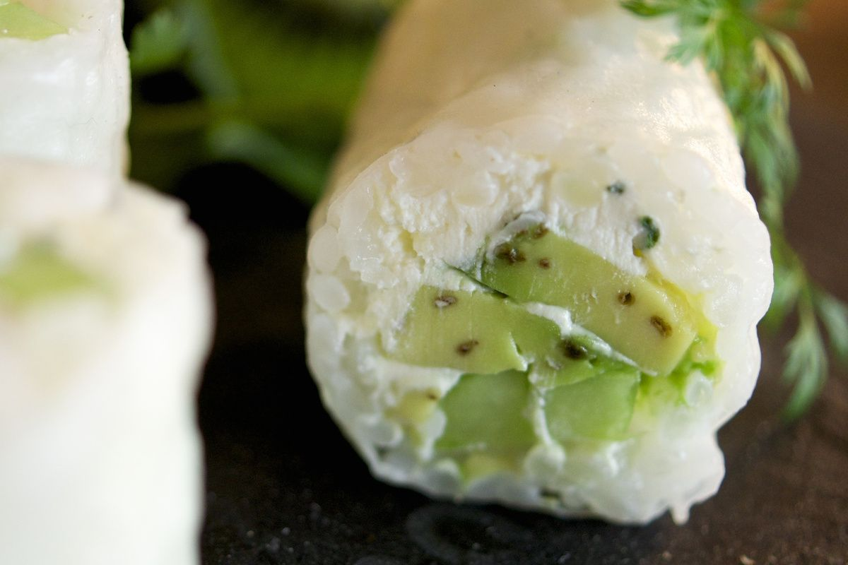 Sushi Spring Rolls Avocat, Concombre et Cheese