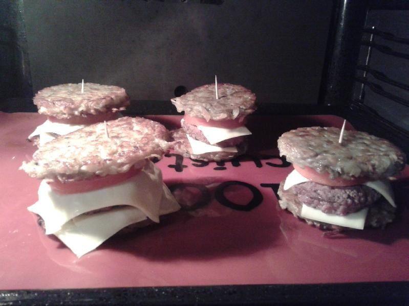 Recette originale  Le Patato Burger