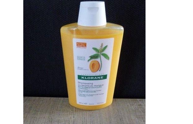 Le shampooing Klorane, au beurre de mangue, une merveilleuse découverte!