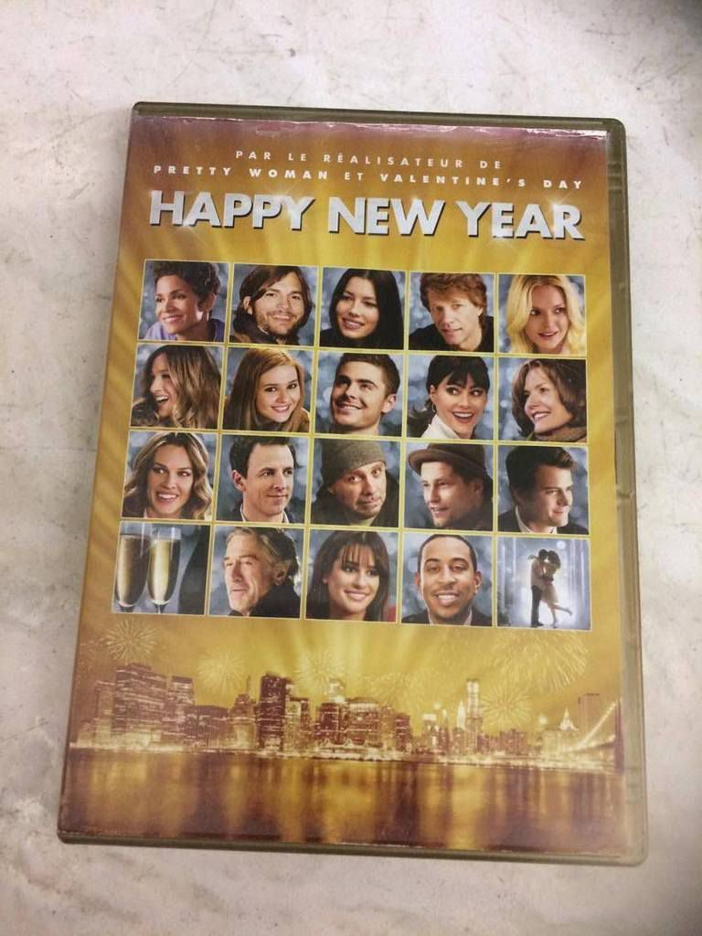 DVD Happy New Year