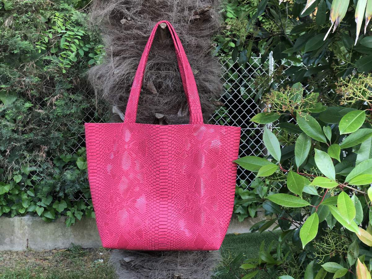 Sac Dragon - Le Cabas Facile - Tutoriel Couture