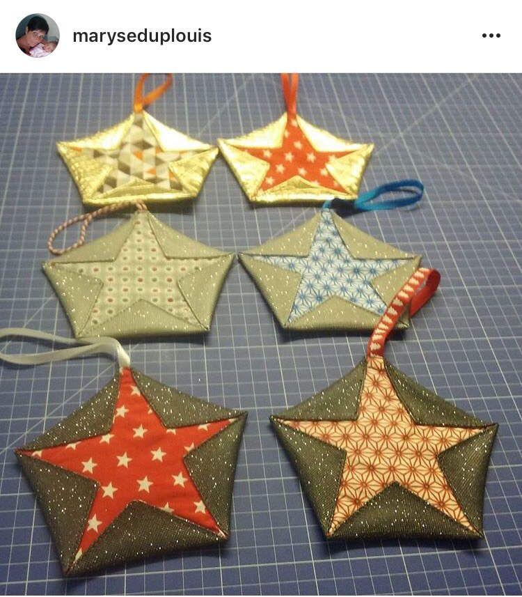 Tuto Etoile Origami - Couture et DIY