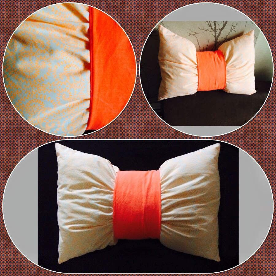 Tuto Coussin Noeud