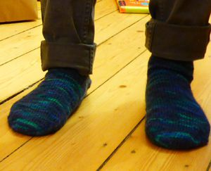 Tricot n° 36 Chaussettes Pierre