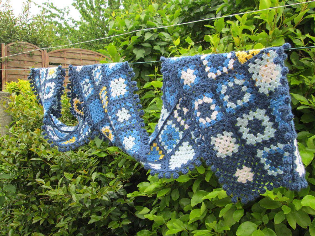 Patchwork -crochet