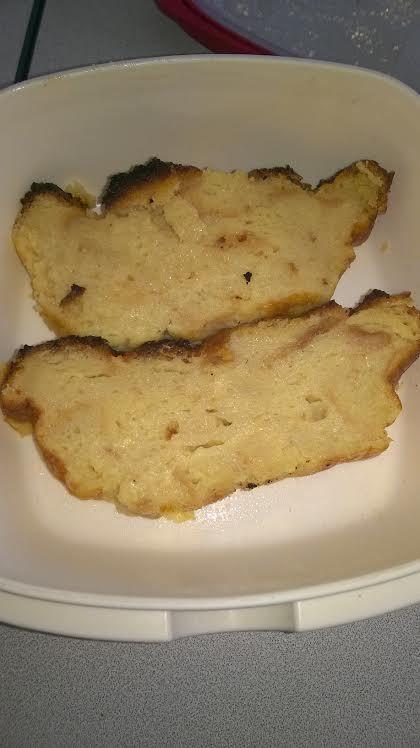 Pudding aux restes de pain (ou &quot&#x3B;crache-test&quot&#x3B;)