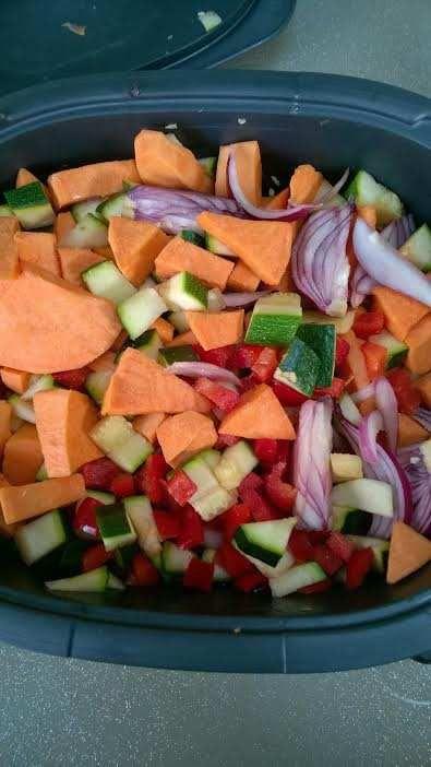 Tian de légumes façon feignasse