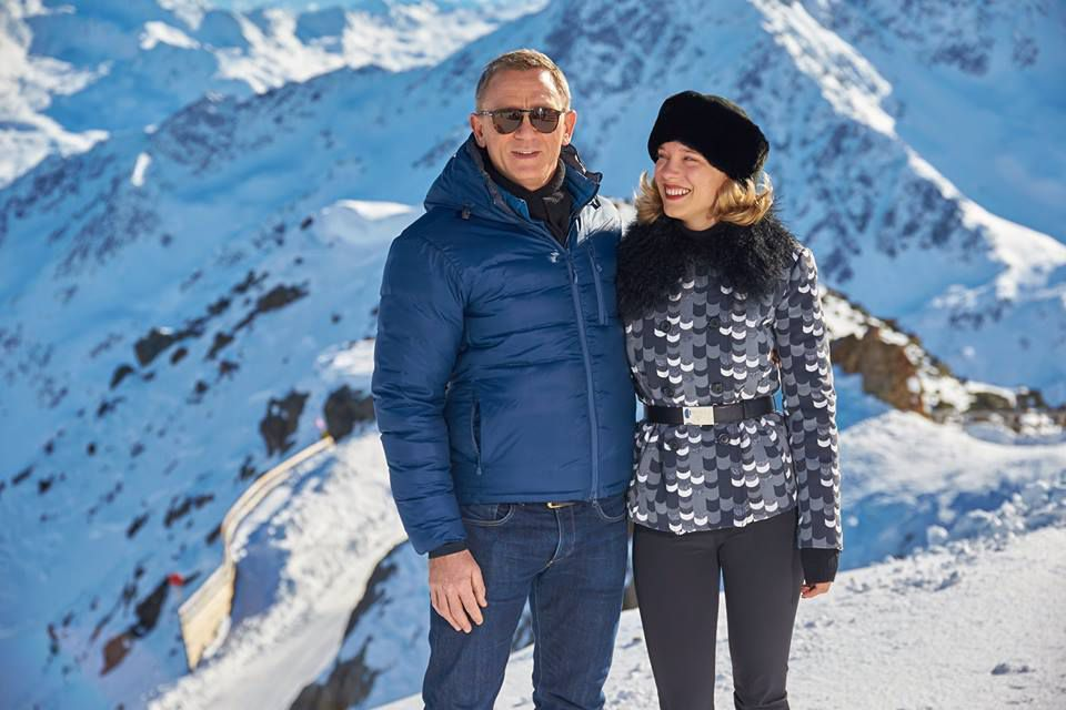 Les photos du tournage du nouveau James Bond 007 #Bond24 #Spectre