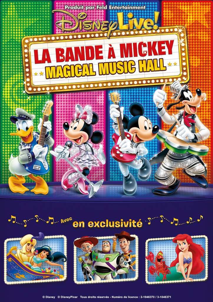 La Bande à Mickey sur la scène du Grand Rex du 11 Février au 1er Mars 2015.