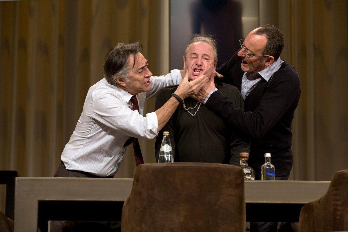 Jean Reno et Richard Berry réunis sur les planches pour 'Nos femmes' - A partir du 3 Février au Théâtre de Paris