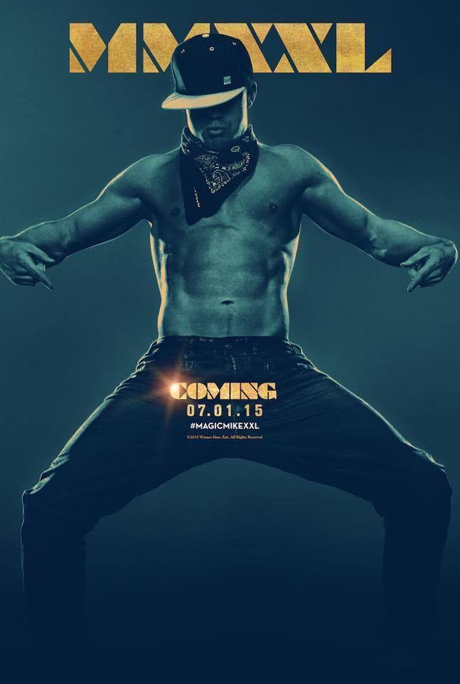 Magic Mike XXL avec Channing Tatum et Matt Bomer - Première Bande Annonce et Affiche #MagicMikeXXL ça va être très chaud...!!