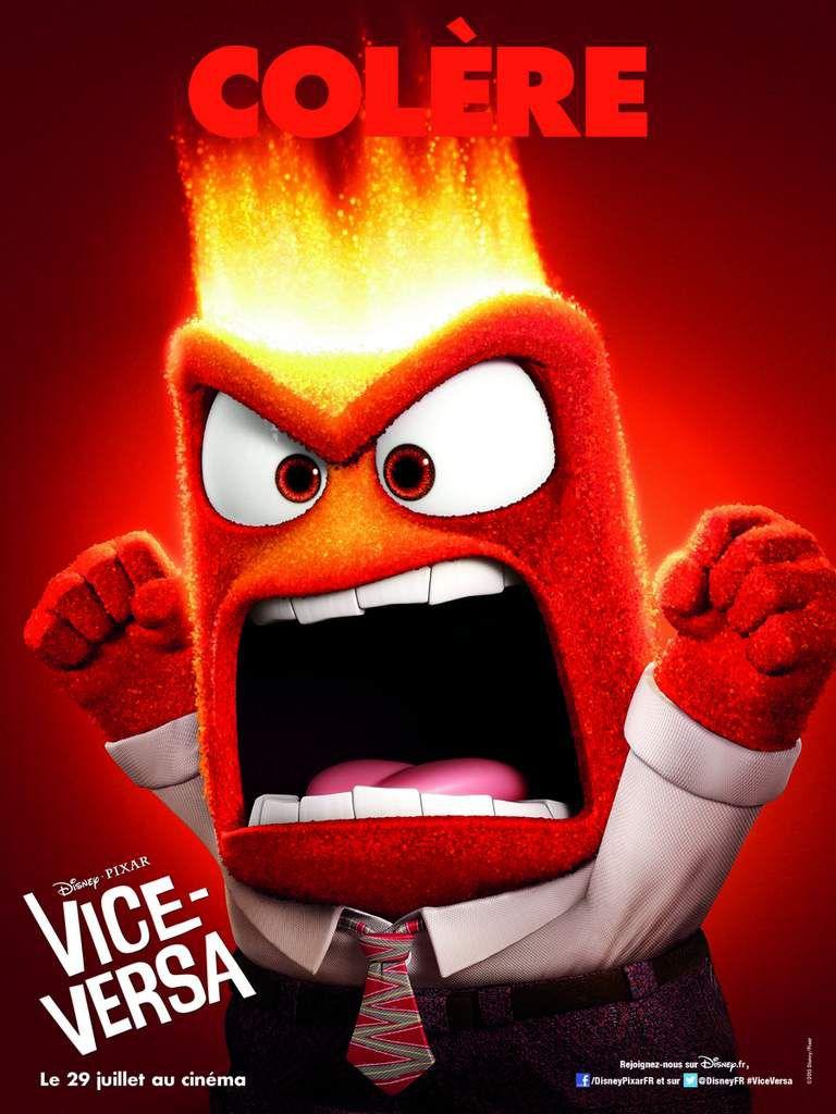 VICE-VERSA - Le nouveau film Disney Pixar sortira au cinéma en France le 29 juillet 2015 - #ViceVersa