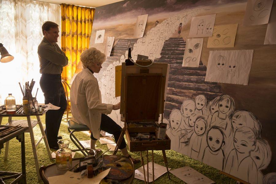 Big Eyes - Le nouveau film de Tim Burton Avec Amy Adams et Christoph Waltz Au Cinéma le 18 Mars 2015