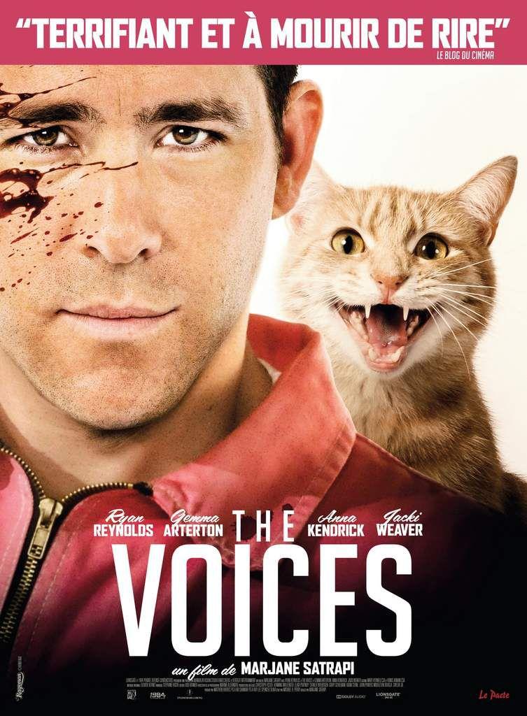 The Voices - Le film de Marjane Satrapi avec Ryan Reynolds - Le 11 Mars au Cinéma #THEVOICES @TheVoicesFilm Il faut toujours se méfier de son chat...