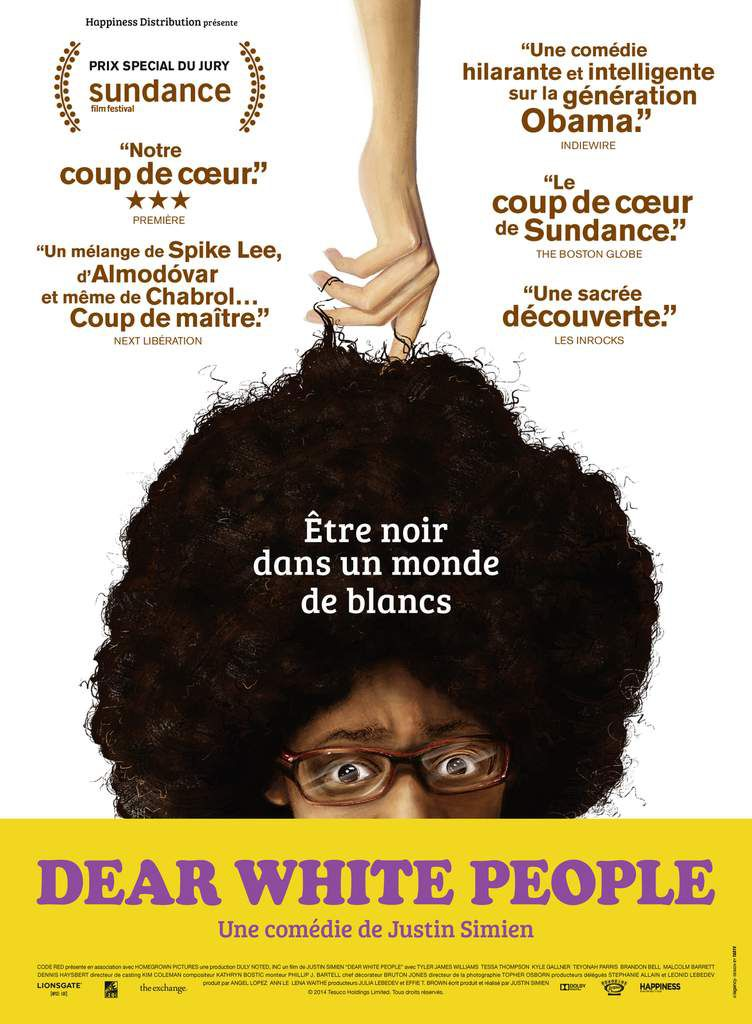 Dear White People - La Comédie qui a fait sensation au festival de Sundance - A découvrir le 25 Mars au Cinéma