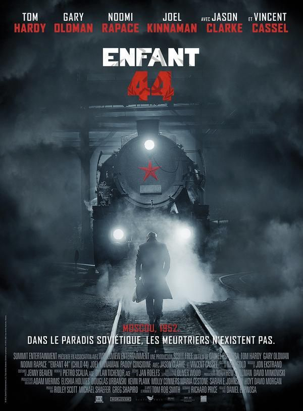 Enfant 44 - Un casting 4 étoiles avec Tom Hardy, Gary Oldman, Noomi Rapace, Vincent Cassel - Au Cinéma le 15 Avril #ENFANT44