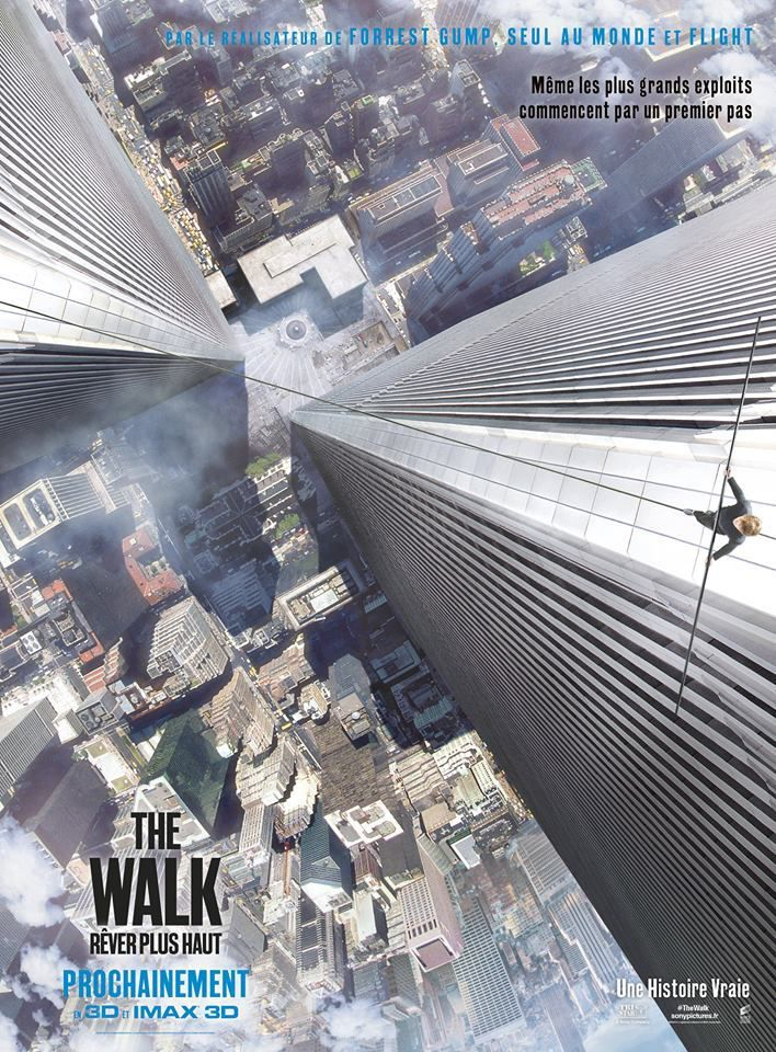 #TheWalk de Robert Zemeckis avec Joseph Gordon-Levitt - Nouvelle bande annonce