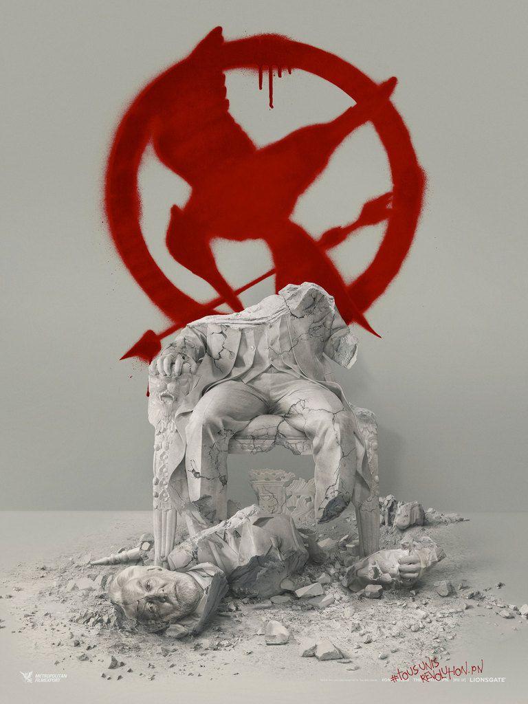 HUNGER GAMES LA RÉVOLTE - Partie 2, le feu brûlera à jamais le 18 novembre au cinéma #HungerGames4