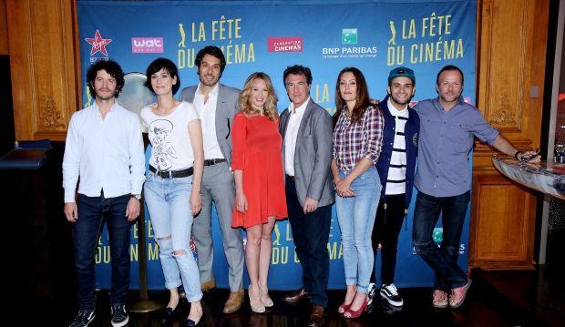 Les ambassadeurs de la fête du Cinéma 2015