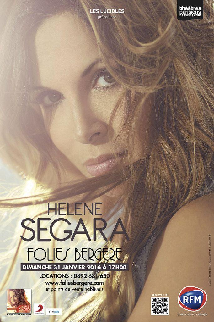 Hélène Segara en concert aux Folies Bergères le 31 Janvier 2016