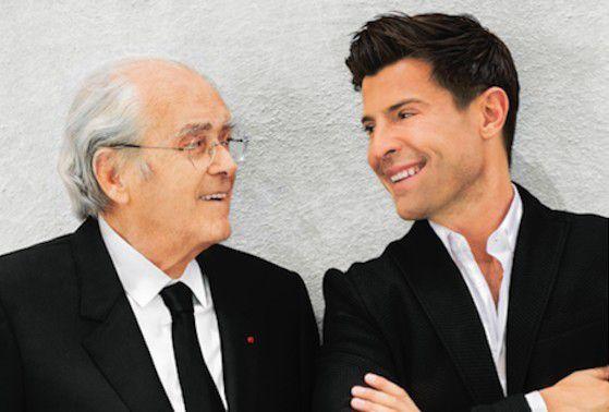 Michel Legrand invite Vincent Niclo au Palais.