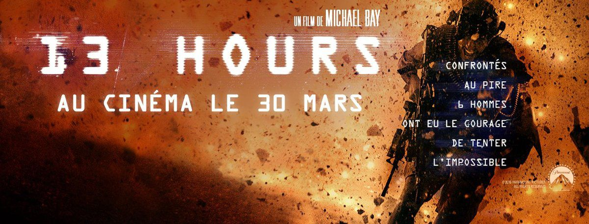 13 hours le nouveau film de michael bay au cin ma le for Le nombre 13 film