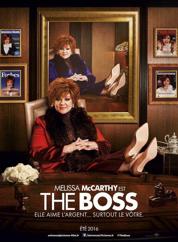 THE BOSS - avec Melissa McCarthy au Cinéma le 20 Juillet 2016  #TheBoss