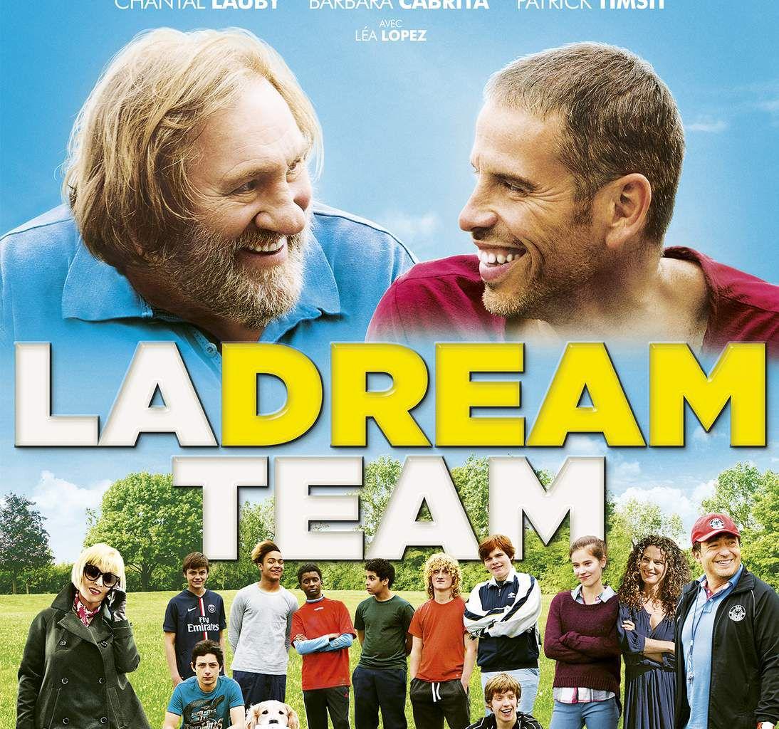 LA DREAM TEAM, une comédie familiale avec Medi Sadoun et Gérard Depardieu, Chantal Lauby au Cinéma le 23 Mars 2016