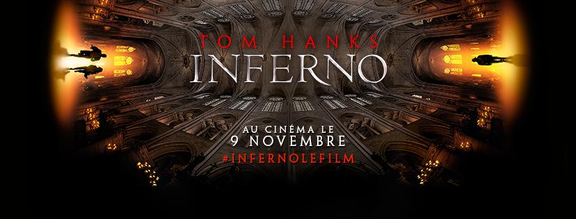 INFERNO la suite de Da Vinci Code et Anges et Démons Réalisé par Ron Howard, avec Tom Hanks, Felicity Jones et Omar Sy au Cinéma le 9 Novembre 2016