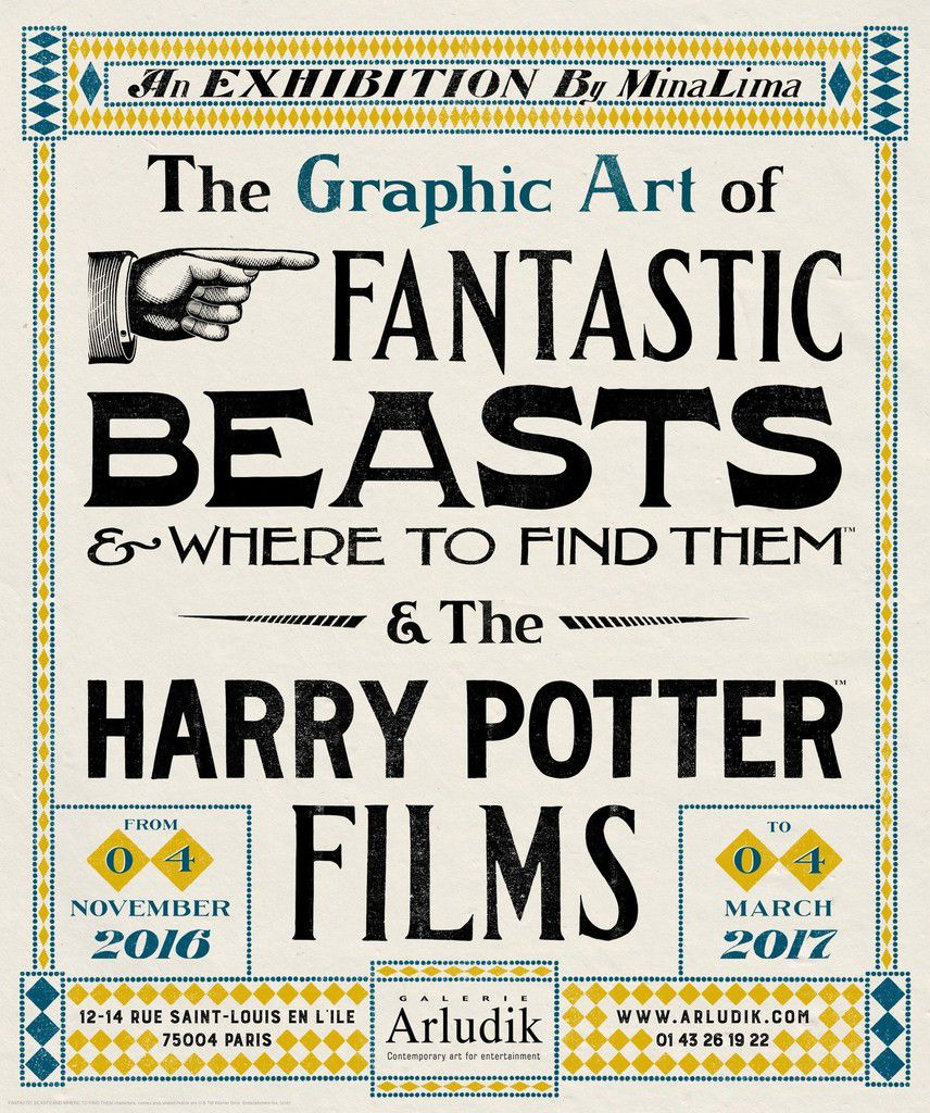 Exposition - The Graphic Art of Fantastic Beasts &amp&#x3B; Where to Find Them &amp&#x3B; The Harry Potter Films