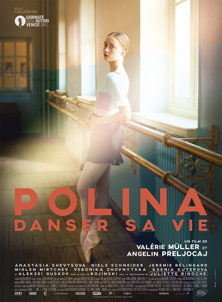 POLINA, Danser sa vie d'Angelin Preljocaj - au Cinéma le 16 Novembre 2016