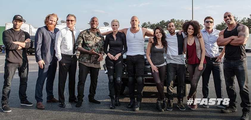 FAST &amp&#x3B; FURIOUS 8 #Fast8  avec Vin Diesel, Dwayne Johnson, Michelle Rodriguez, Jason Statham, Scott Eastwood et Charlize Theron. au Cinéma le 12 Avril 2017