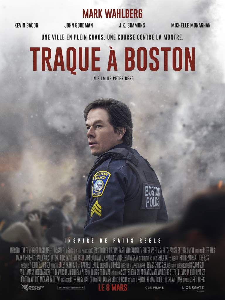 TRAQUE À BOSTON avec Mark Walhberg au Cinéma le 8 Mars #TRAQUEABOSTON,