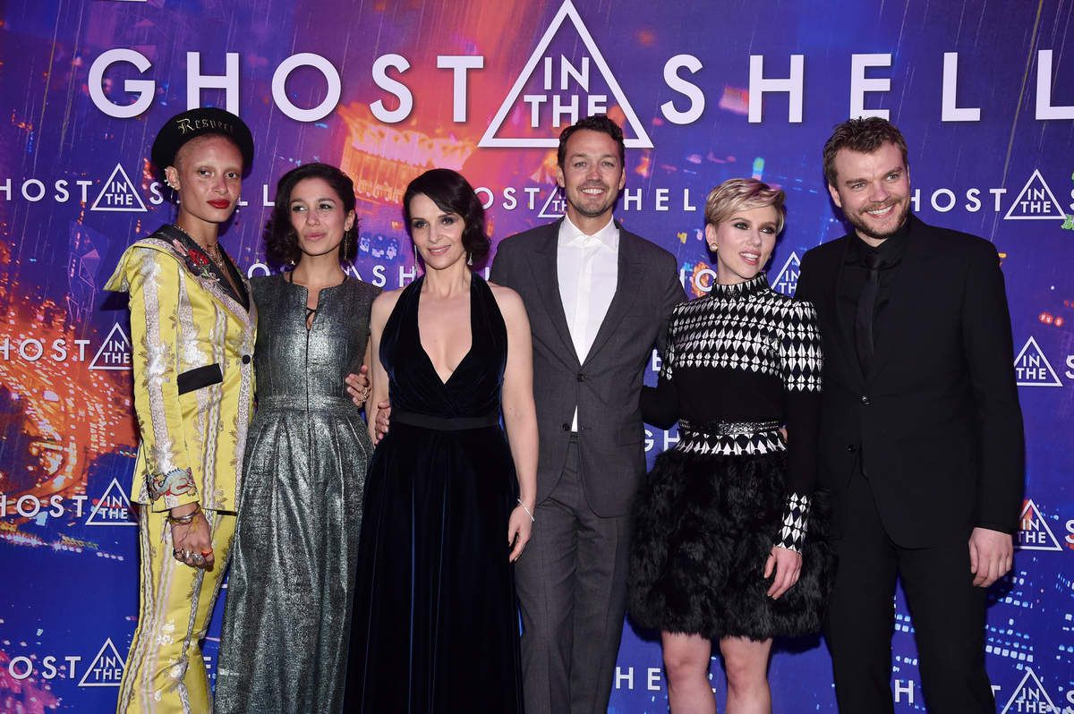 GHOST IN THE SHELL Les photos de l'avant-première à Paris