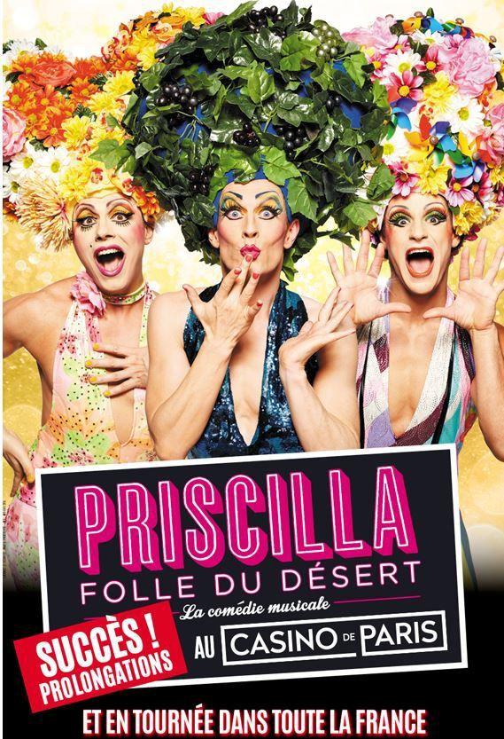 Priscilla joue les prolongations au Casino de Paris jusqu'au 9 juillet, un accueil extraordinaire du public !!