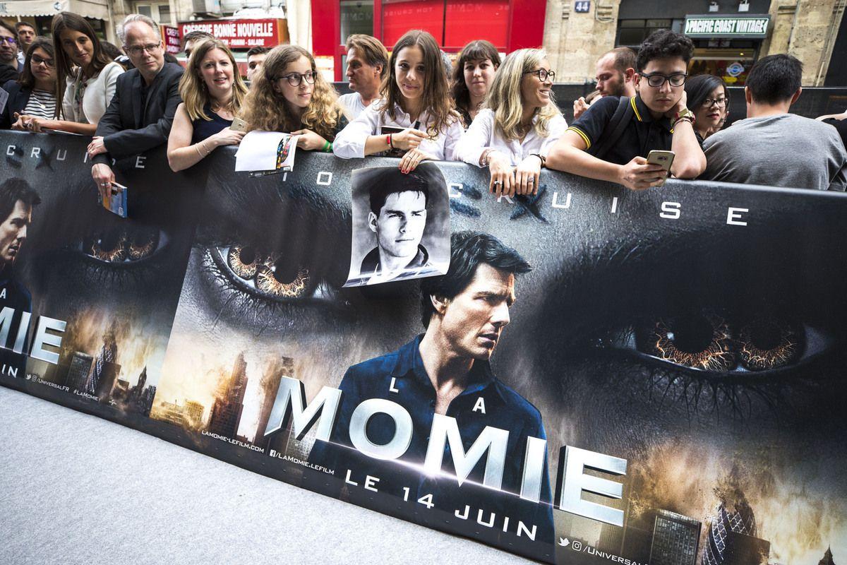 Avant première de LA MOMIE (The Mummy) à Paris en présence de Tom Cruise - Photos et Vidéos