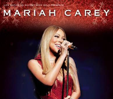 MARIAH CAREY - ALL I WANT FOR CHRISTMAS IS YOU à l'Accorhotels Arena Paris le 9 Décembre 2017