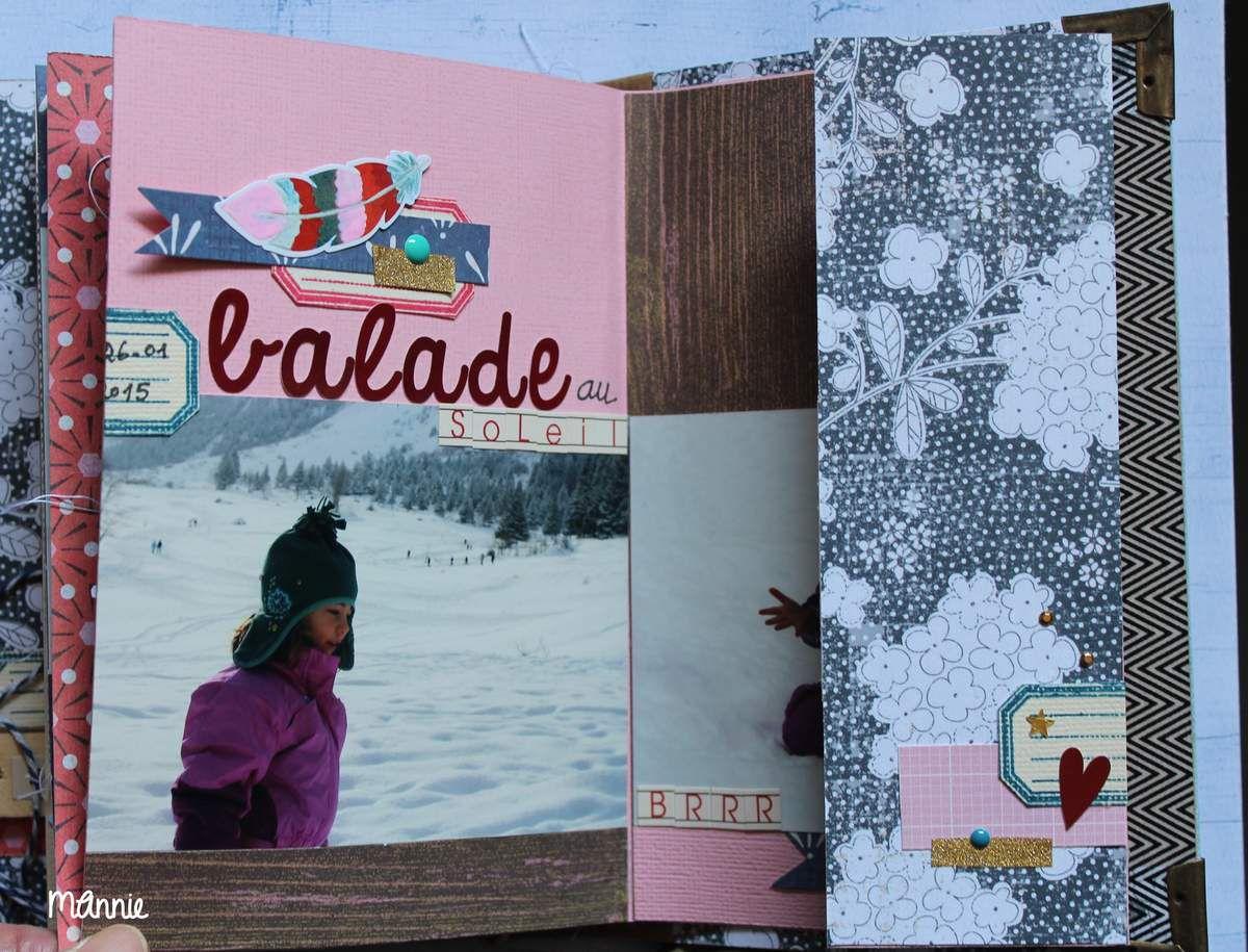 mini-album : Camille à la neige