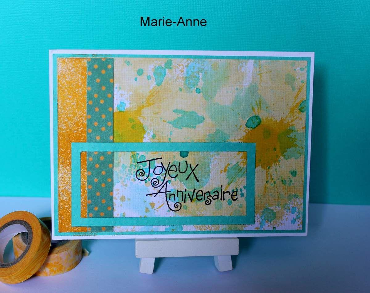 cartes reçues 3ème série