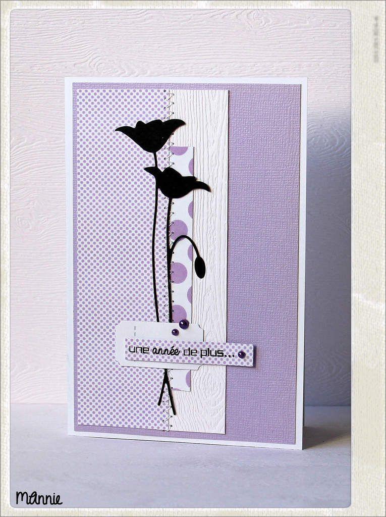 papier Bazzil, Infocréa, Z'étiquettes &#x3B; découpe Memory box, tampon Simly Graphic, demi-perles